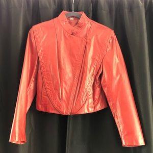 Vintage Red Wilson's Leather Crop